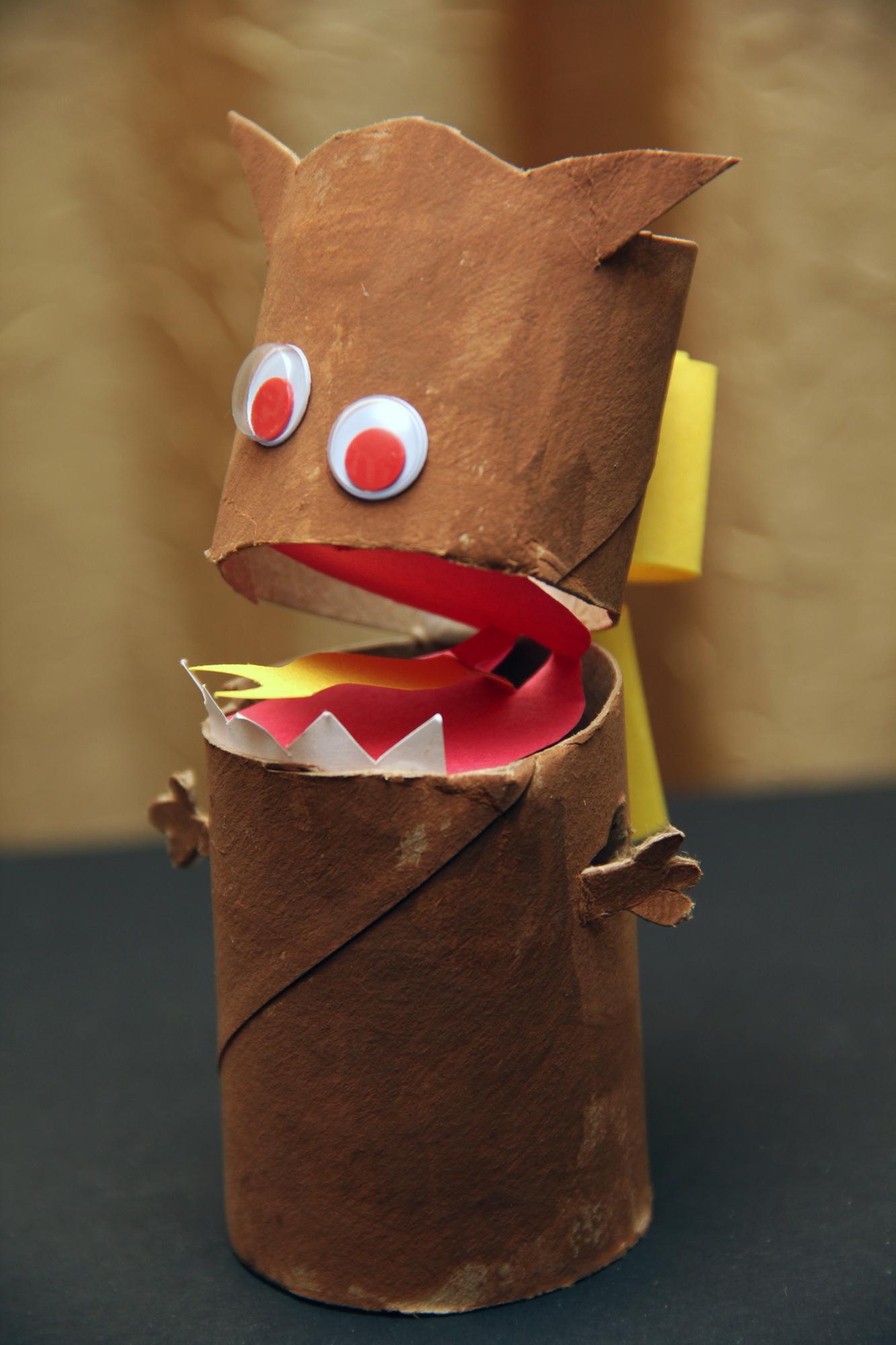 Creature Finger Puppet Complete