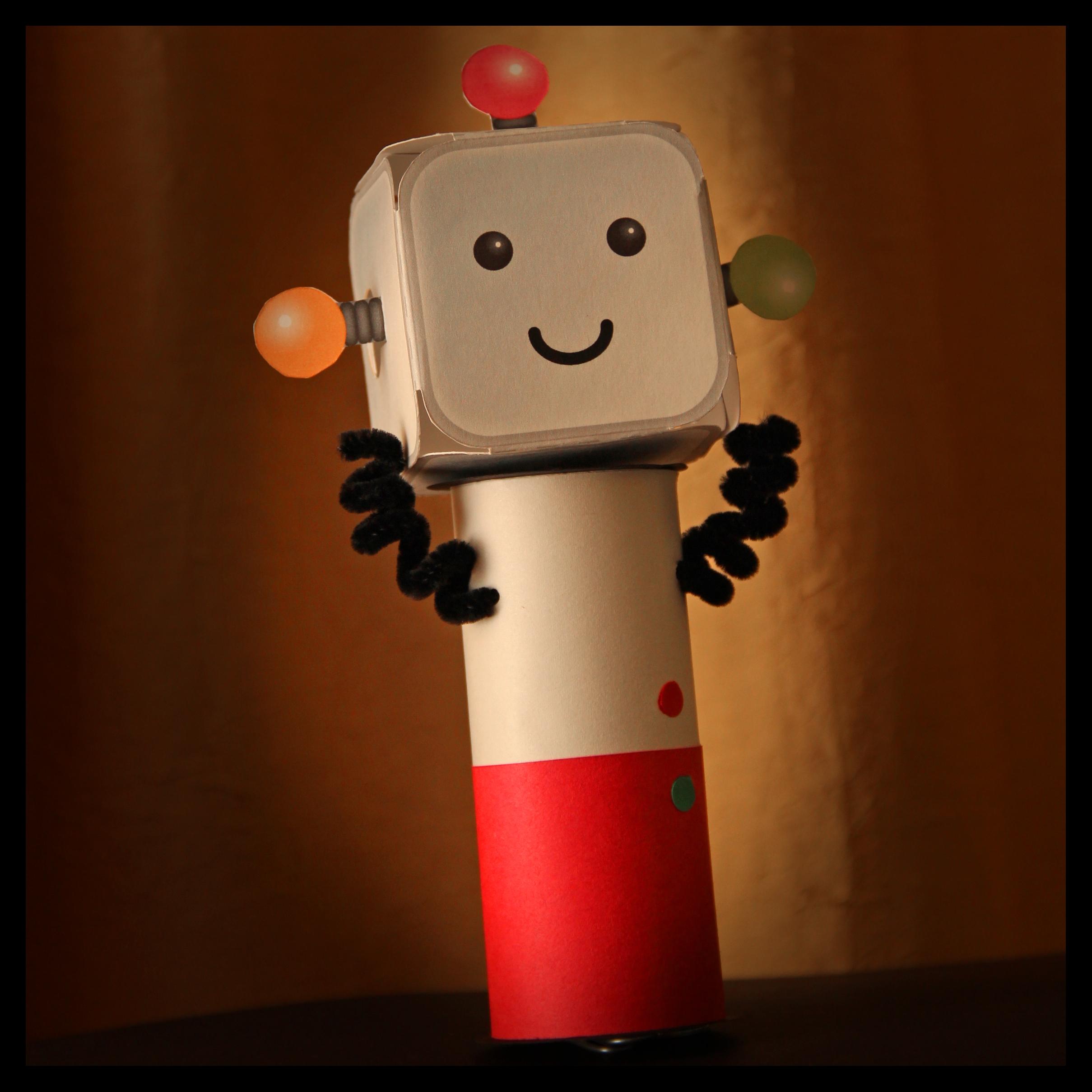Spinning Robot Toy
