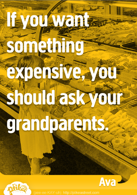 Things Kids Say: Ask Your Grandparents