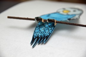 Bird & Cage Stick
