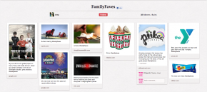 Amy's Pinterest Family Faves Board