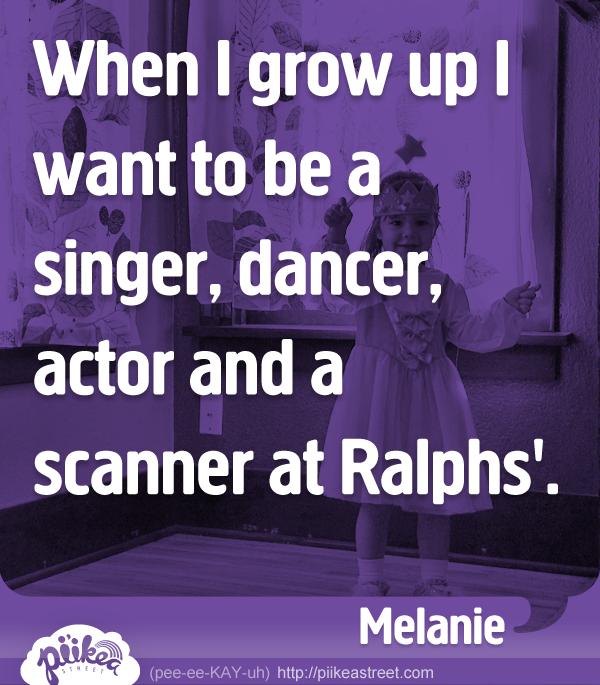 Things Kids Say: Scanner at Ralphs