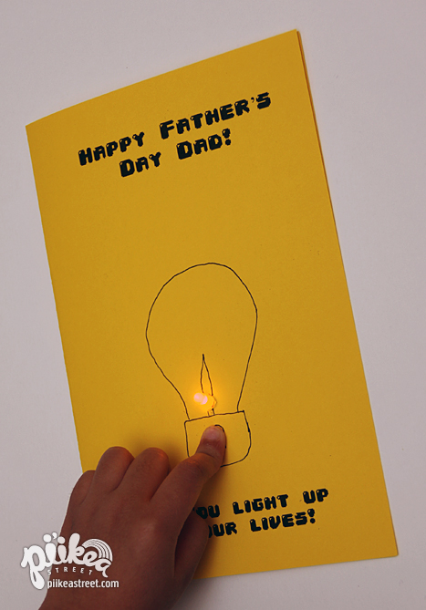 Dad's Day Card Main