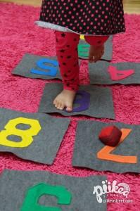 Hopscotch Tiles Play