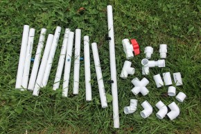 PVC Construction Set Pipes