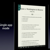 Single-app Mode in iOS6 from WWDC Keynote
