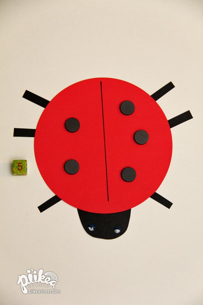 Ladybug Spots Game