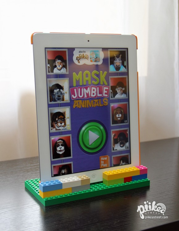 DIY iPad Stand Main