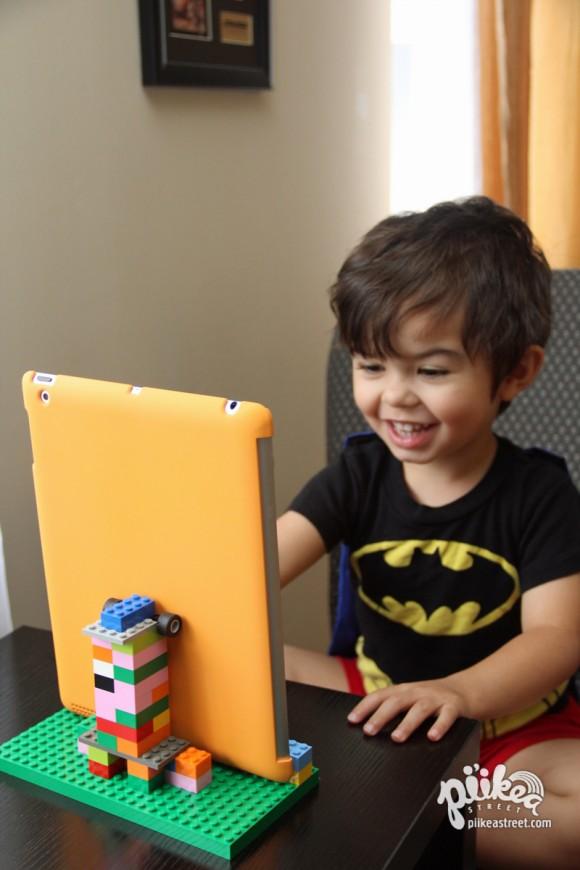 DIY iPad Stand 07