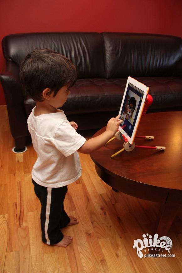 DIY iPad Stand 03