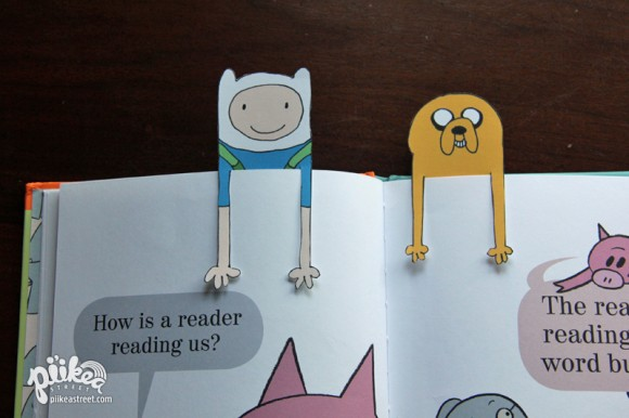Adventure Time Bookmarks