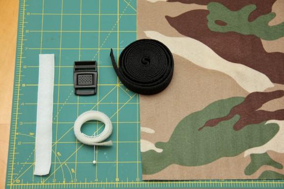 Adventurer's Belt Materials