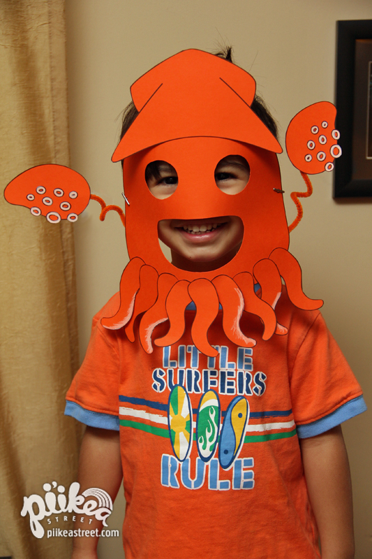Squid Mask