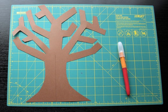 Gratitude Tree Middle Cut