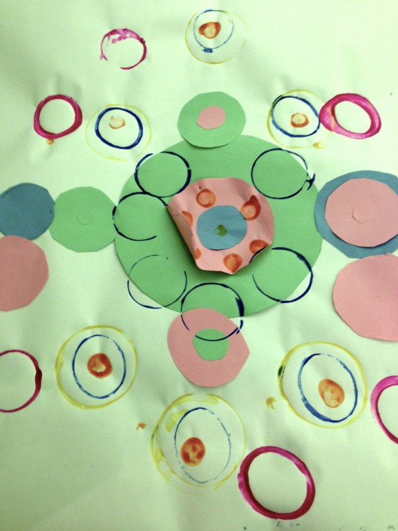 Circle collage